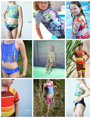 "Kombi-eBook - ""Swimwear Collection"" - Hose -  NipNaps - Glückpunkt."