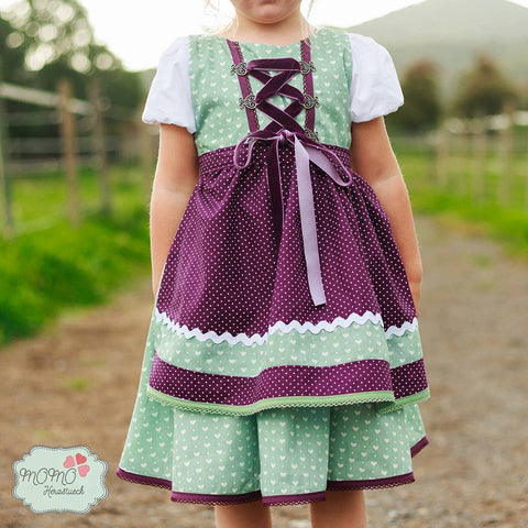 "eBook - ""Tutorial Sonnentanz goes Oktoberfest"" - Kleid -  From Heart to needle"