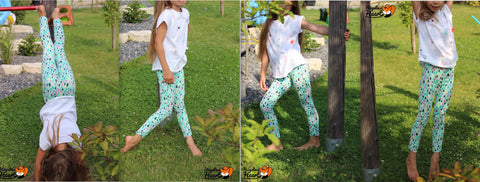 "eBook - ""Mini Lora"" - Leggins - Drei eMs"