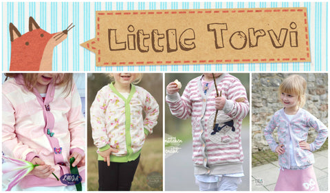 "eBook - ""Little Torvi"" - Cardigan/Strickjacke - Annas-Country"