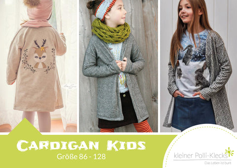 "eBook - ""Cardigan Kids"" - Kleiner Polli-Klecks - Glückpunkt."