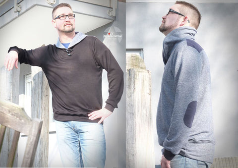 "eBook - ""Mr.Klassik"" - Pullover - Konfetti Patterns - Glückpunkt."