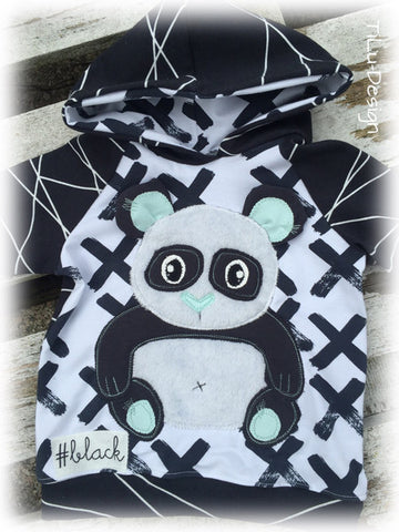 "Applikationsvorlage - ""Panda"" - Bär - Kinder - Applizieren - Applikation - TiLu Design"
