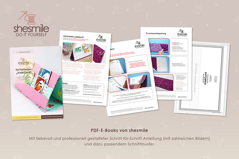 "eBook - Kartenhalter ""KiddiCard"" - Shesmile, Do it yourself - Glückpunkt."