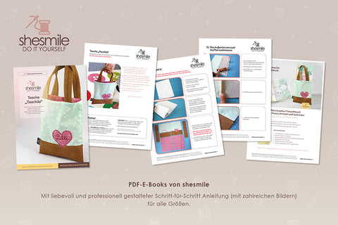 "Freebook - Tasche ""Taschilo"" - Shesmile, Do it yourself - Glückpunkt."