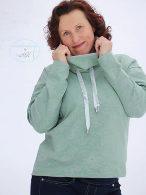 "Kombi-eBook - ""Basic Oversize Sweater Damen #13 + Add-on #14"" - Lemel Design"
