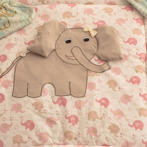 "Applikationsvorlage - ""Elefant"" - Mini & Me Patterns"