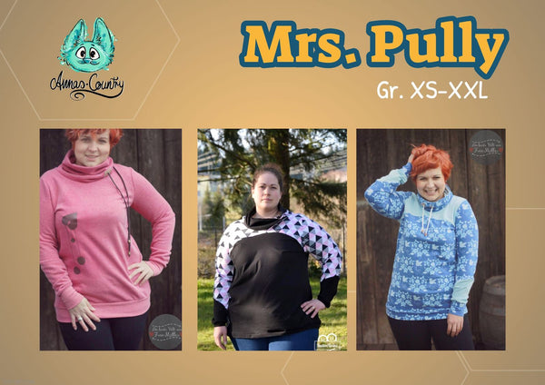 "eBook - ""Mrs. Pully 2.0"" - Pullover -  Annas-Country"