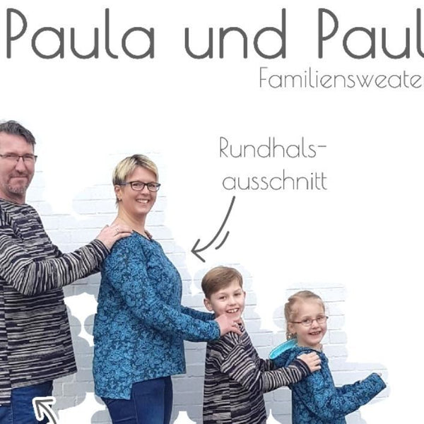 "eBook - ""FAMILIENWEATER PAULA&PAUL"" - Sweater - Piechens"