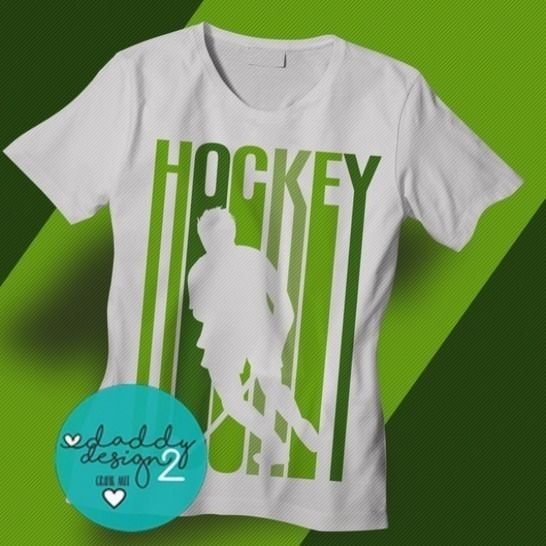 "Plotterdatei - ""Feldhockey Boy - lines"" - Design - Daddy2Design"