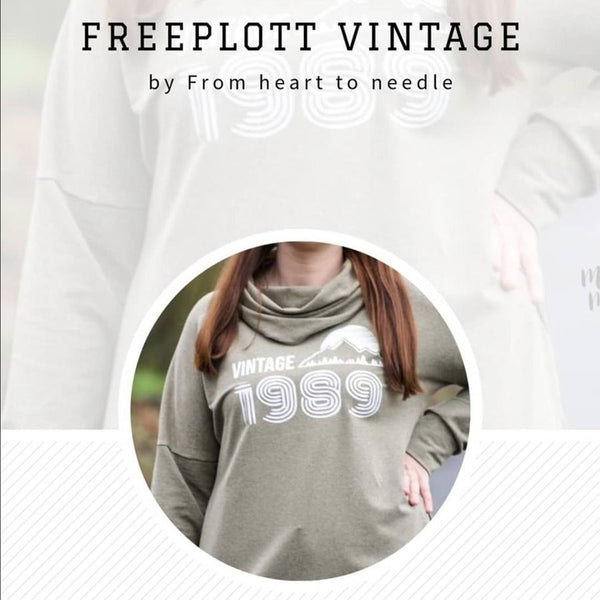 "Freebook-Plotterdatei - ""FREEPLOTT VINTAGE"" - From Heart to Needle"