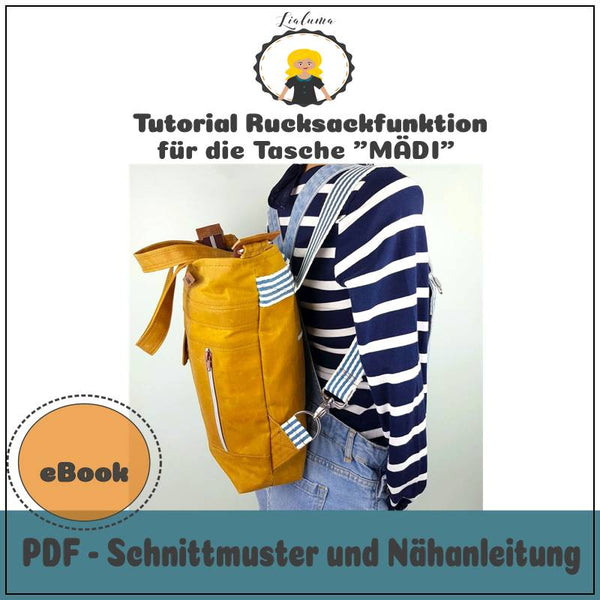 "Freebook - ""Rucksackfunktion Mädi"" - Lialuma"