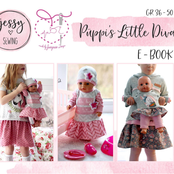 "eBook - ""Püppi's little Diva"" - Zwergnase Design"