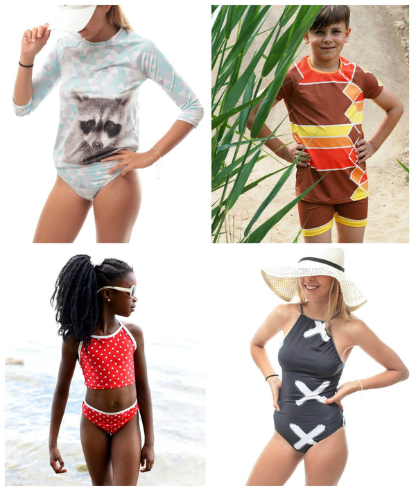 "eBook inkl. Plottdatei - ""Swimwear Collection"" - Teens -  NipNaps"