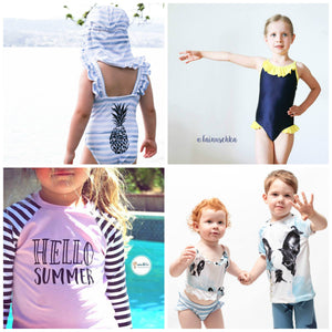 "eBook - ""Swimwear Collection"" - Kids -  NipNaps"