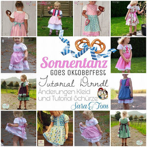 "eBook - ""Tutorial Sonnentanz goes Oktoberfest"" - Kleid -  From Heart"