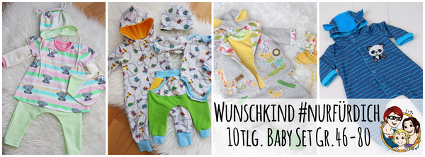 "eBook - ""Wunschkind #nurfürdich"" - Baby Erstausstattung - From Heart to Needle"