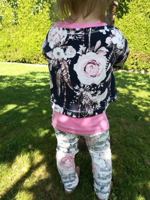 "eBook - ""Summer set girls""  Shirt - Mini & Me Patterns"