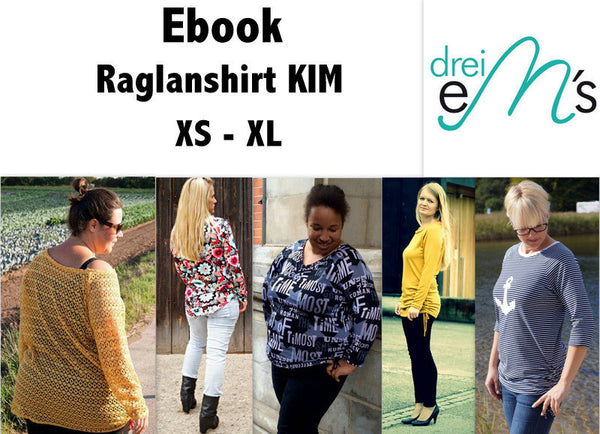"eBook - Shirt ""Kim"" - Drei eMs"