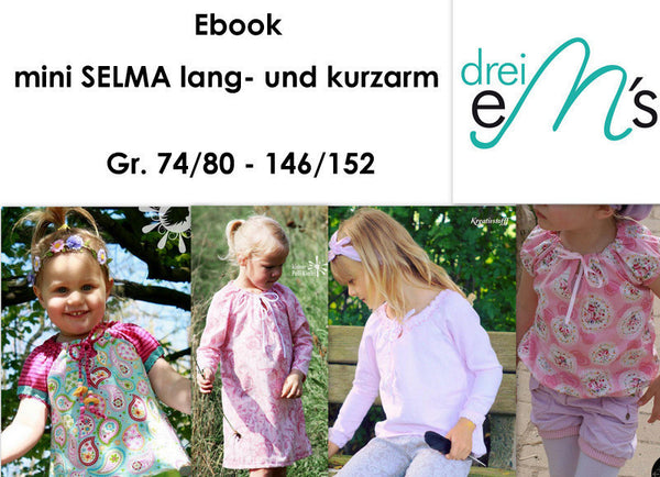 "eBook - ""Selma Mini"" - Shirt - Bluse - Drei eMs"