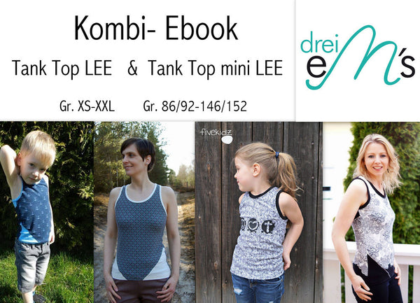 "Kombi-eBook - ""Lee& Mini Lee"" - Top - Drei eMs - Glückpunkt."