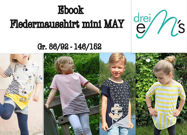 "eBook - ""Mini May"" - Shirt - Drei eMs - Glückpunkt."