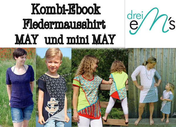 "Kombi-eBook - ""May"" - Shirt - Drei eMs - Glückpunkt."