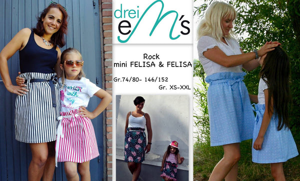 "Kombi-eBook - ""FELISA & FELISA Mini"" - Rock - Drei eMs"
