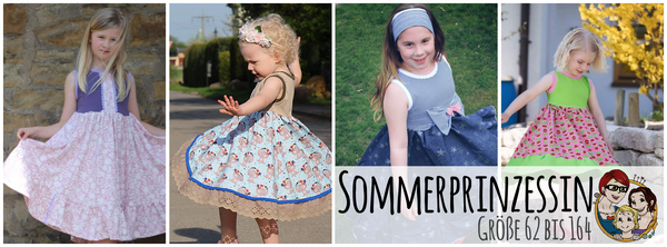 "eBook - ""Sommerprinzessin"" - Kleid - From Heart to Needle"