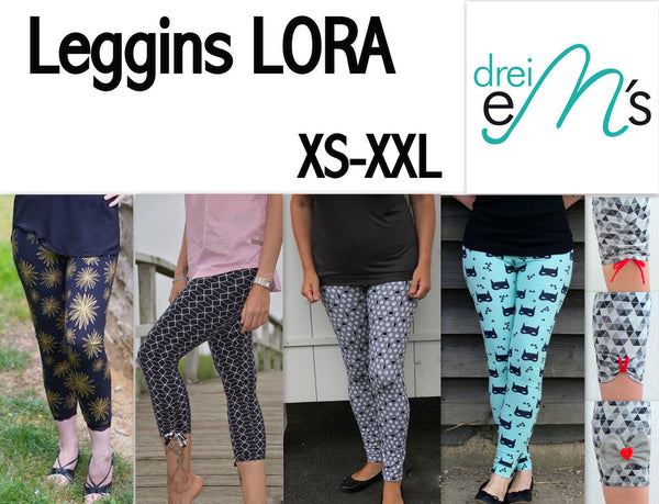 "eBook - ""Lora"" - Leggins - Drei eMs"
