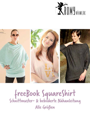 "Freebook - ""Square Shirt"" - Shirt - Romy Nähwerk"