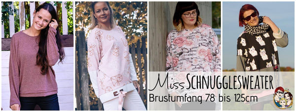 "eBook ""Miss Schnuggelsweater"" - Pullover - From Heart to Needle - Glückpunkt."