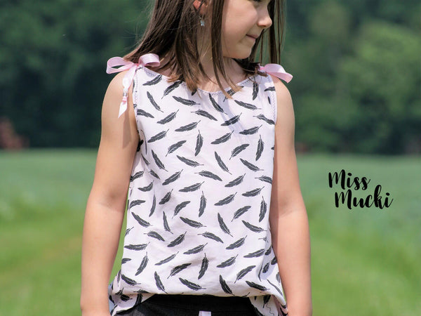 "eBook - ""Hängerchen Girls"" - Top/Kleid - Mini & Me Patterns"