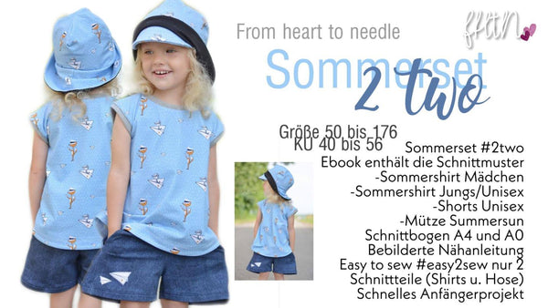 "eBook - ""Chocolate hoch 2"" - Shirt/Kleid - From Heart to Needle"