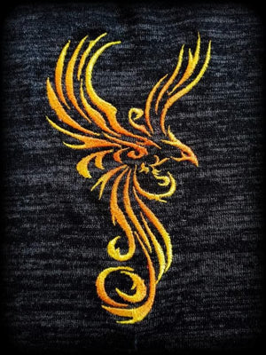 "Stickdatei - ""Phoenix Cyrill 13x18 Color""- Stixxie"