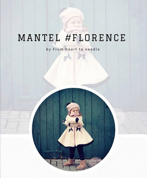 "eBook - ""Florence"" - Mantel-/Kleid - From Heart to Needle"