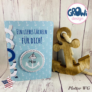 "DigiStamp - ""Kapitän Erdmännchen"" - GroWidesign"