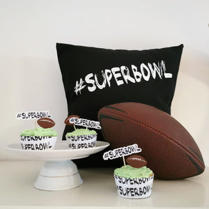 "Plotterdatei - ""#Superbowl - B.Style"