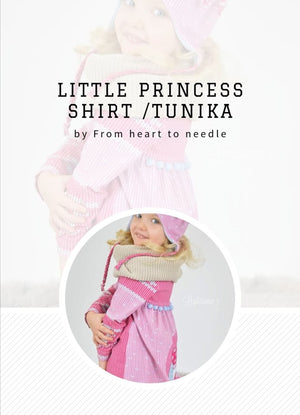"e-Book - ""Little Princess"" - Shirt/Tunika  - From Heart to Needle"