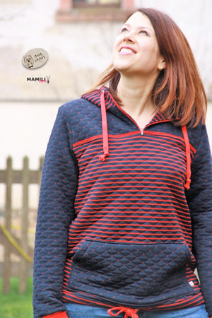 "eBook - ""Lahja"" - Windbreaker-Sweater - Mamili1910"