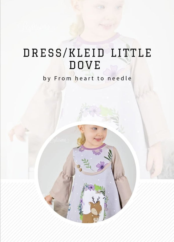"e-Book - ""Little Dove"" - Kleid/Dress  - From Heart to Needle"