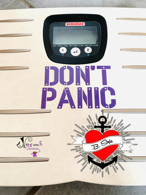 "Freebook-Plotterdatei - ""*DON´T PANIC*"" - B.Style"