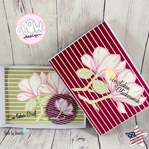 "DigiStamp - ""Magnolie"" - GroWidesign"