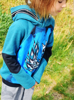 "eBook - ""Little Lotte"" - Raglan Hoodie - Mamili1910"