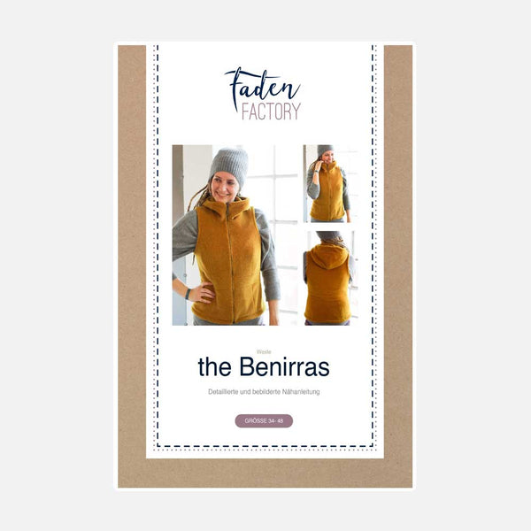 "eBook - ""Benirras the vest"" - Weste - Fadenfactory"