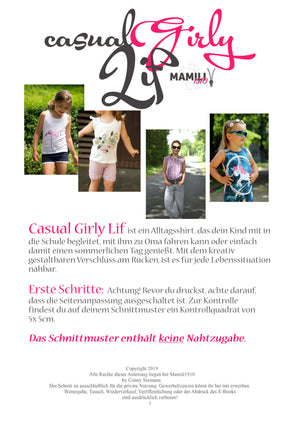 "eBook - ""Casual Lif Girly"" - Shirt - Mamili1910"