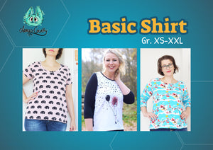 "eBook - ""Basic Shirt"" - Shirt -  Annas-Country"