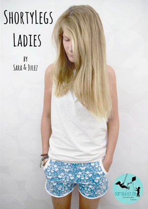 "eBook - ""ShortyLegs Ladies"" - Hose - Sara & Julez - Glückpunkt."