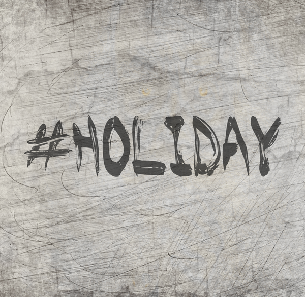 "Plotterdatei - ""#holiday"" - B.Style"
