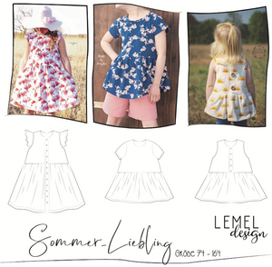 "eBook - ""Sommer-Liebling"" - Bluse/Kleid - Lemel Design"